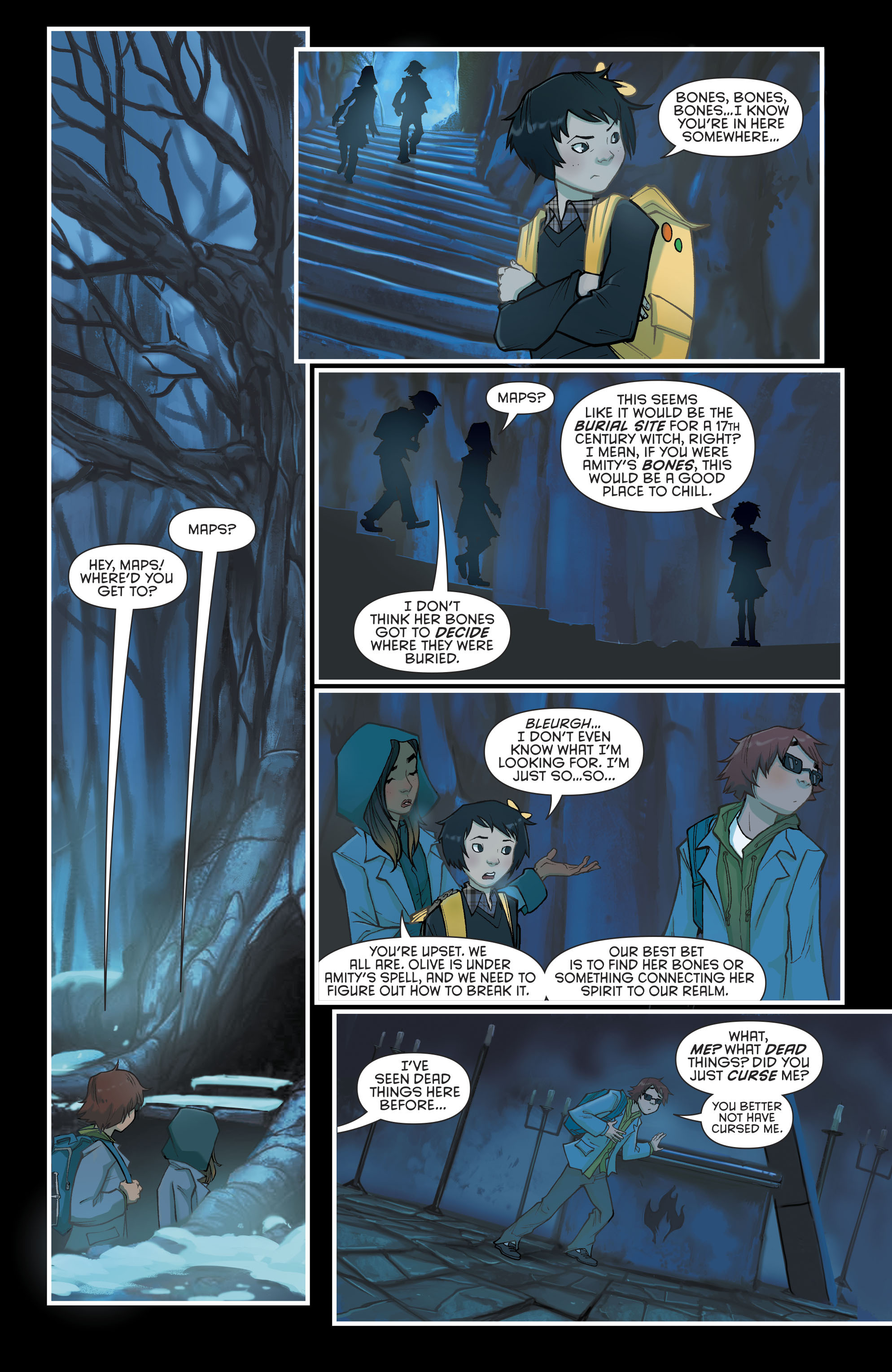 Read online Gotham Academy: Second Semester comic -  Issue #9 - 9