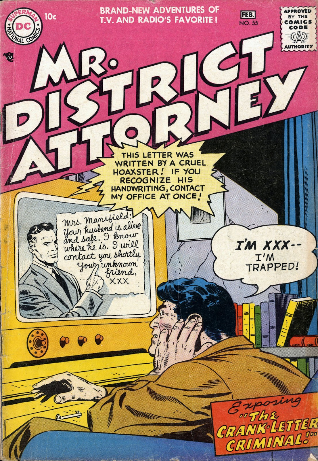 Mr. District Attorney issue 55 - Page 1