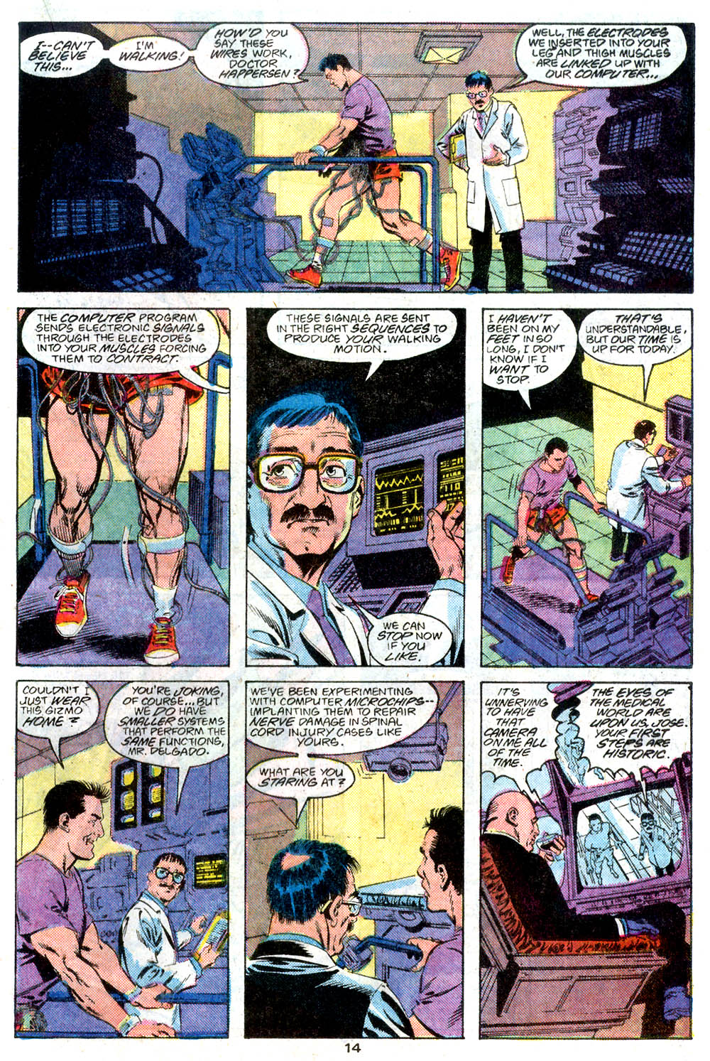 Read online Adventures of Superman (1987) comic -  Issue #446 - 15