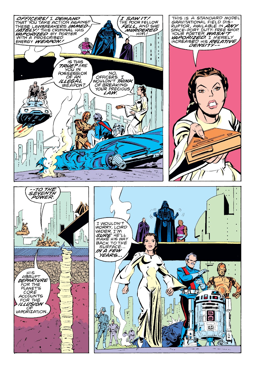 Read online Star Wars Legends: The Original Marvel Years - Epic Collection comic -  Issue # TPB 3 (Part 2) - 91