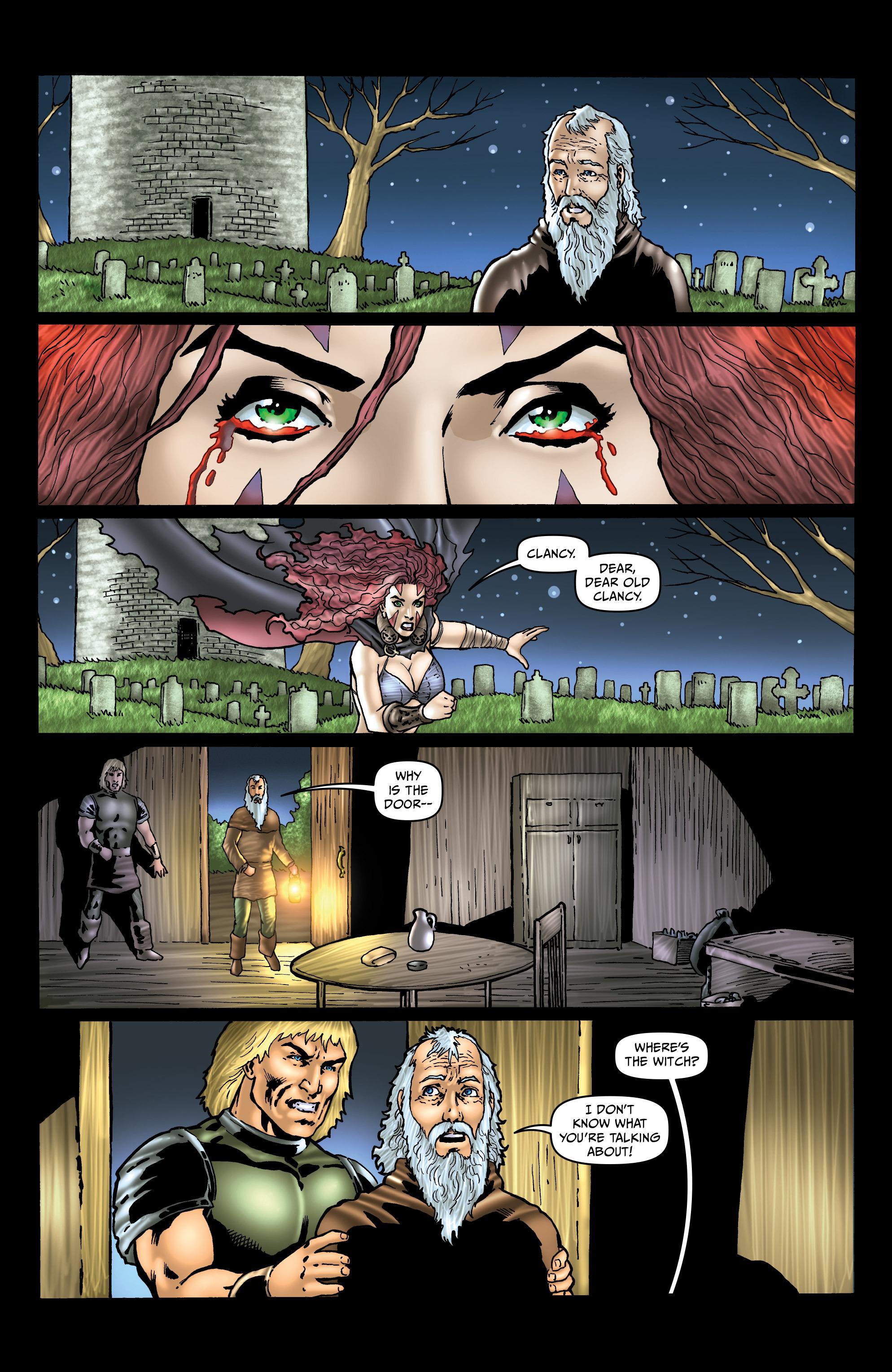 Read online Belladonna: Origins comic -  Issue #4 - 19