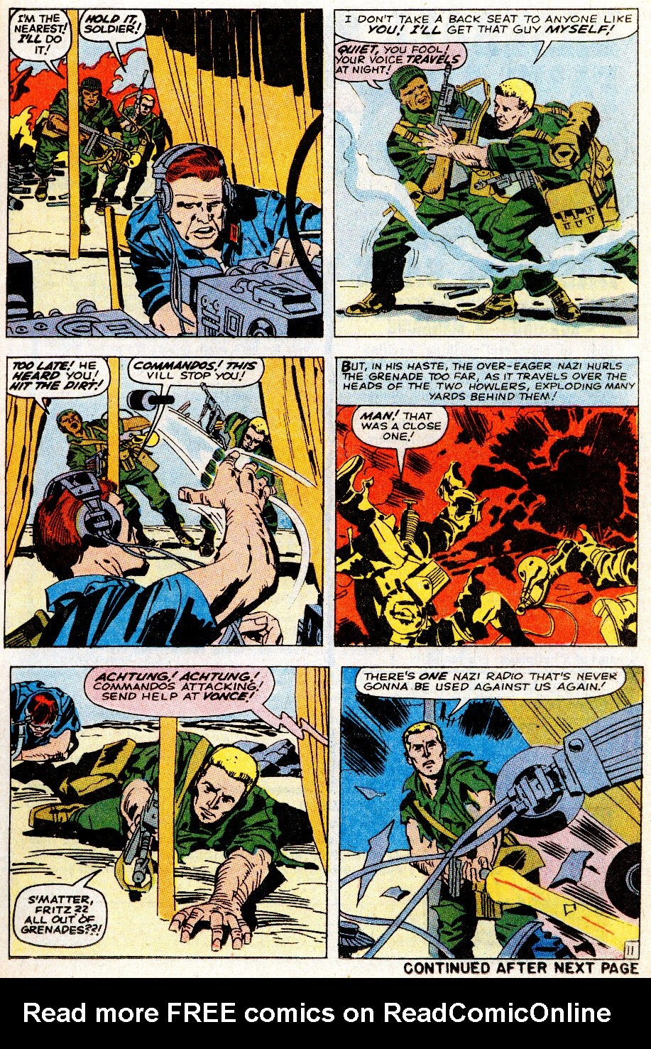 Read online Sgt. Fury comic -  Issue # _Special 5 - 13