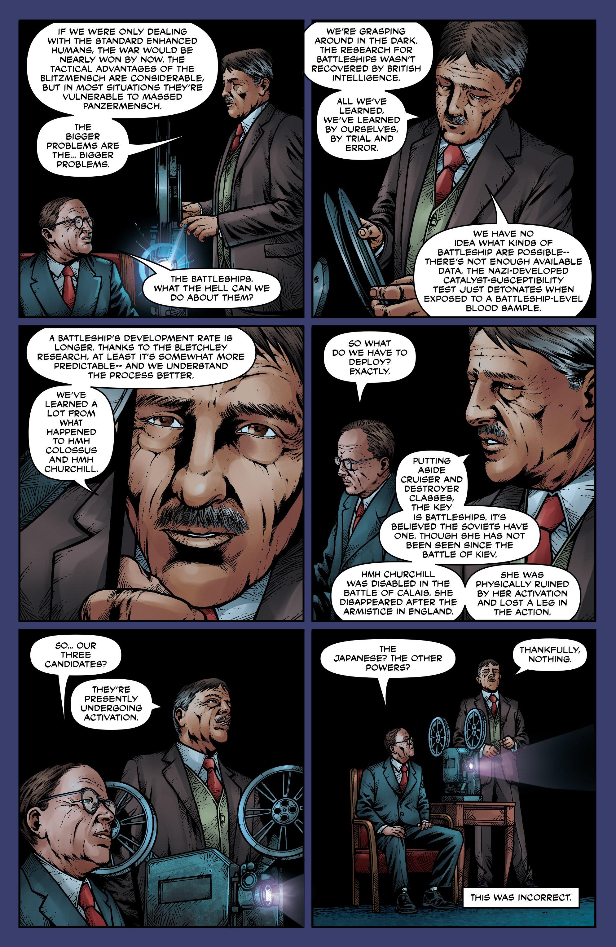 Read online Uber: Invasion comic -  Issue #1 - 13