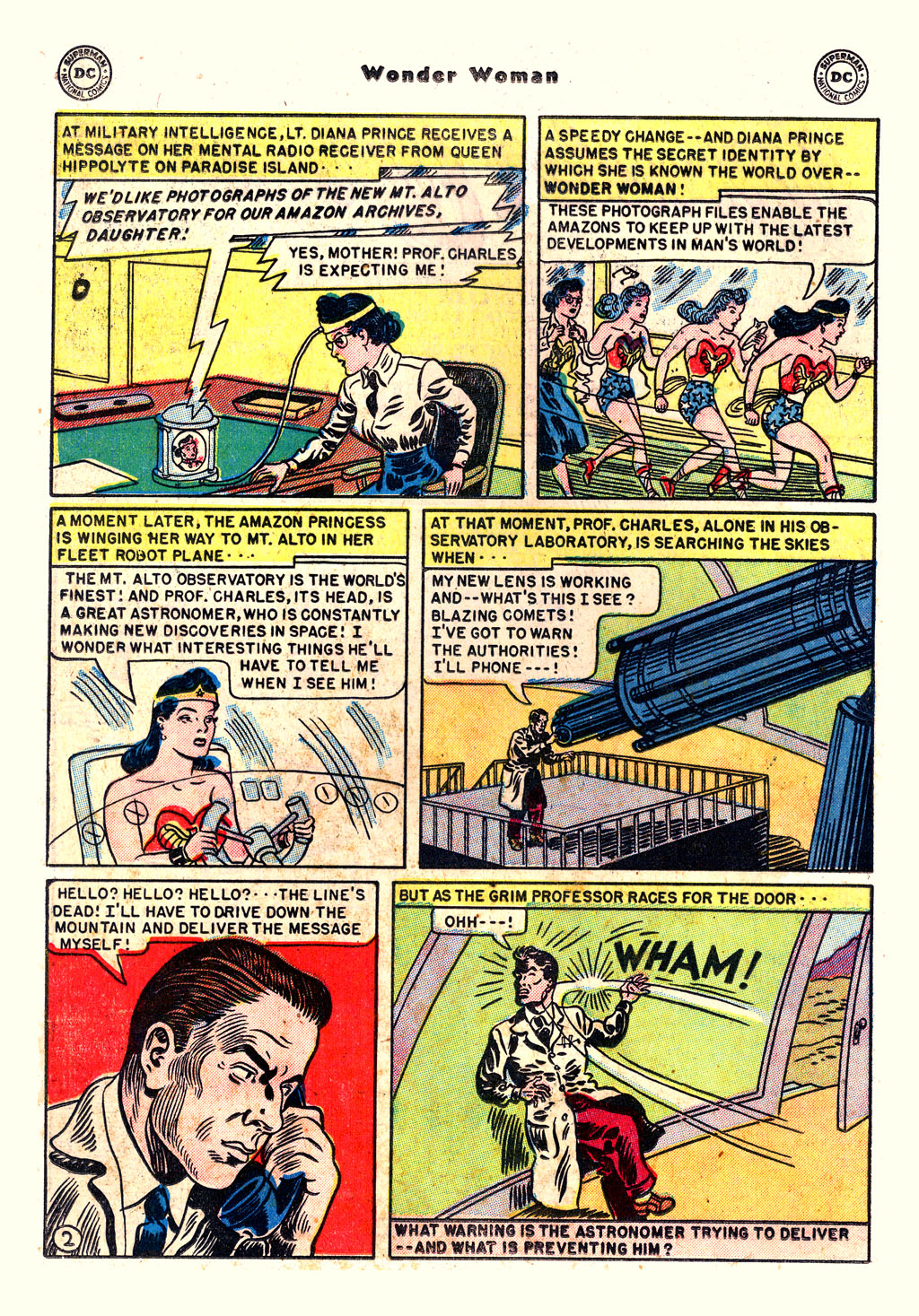 Read online Wonder Woman (1942) comic -  Issue #54 - 16