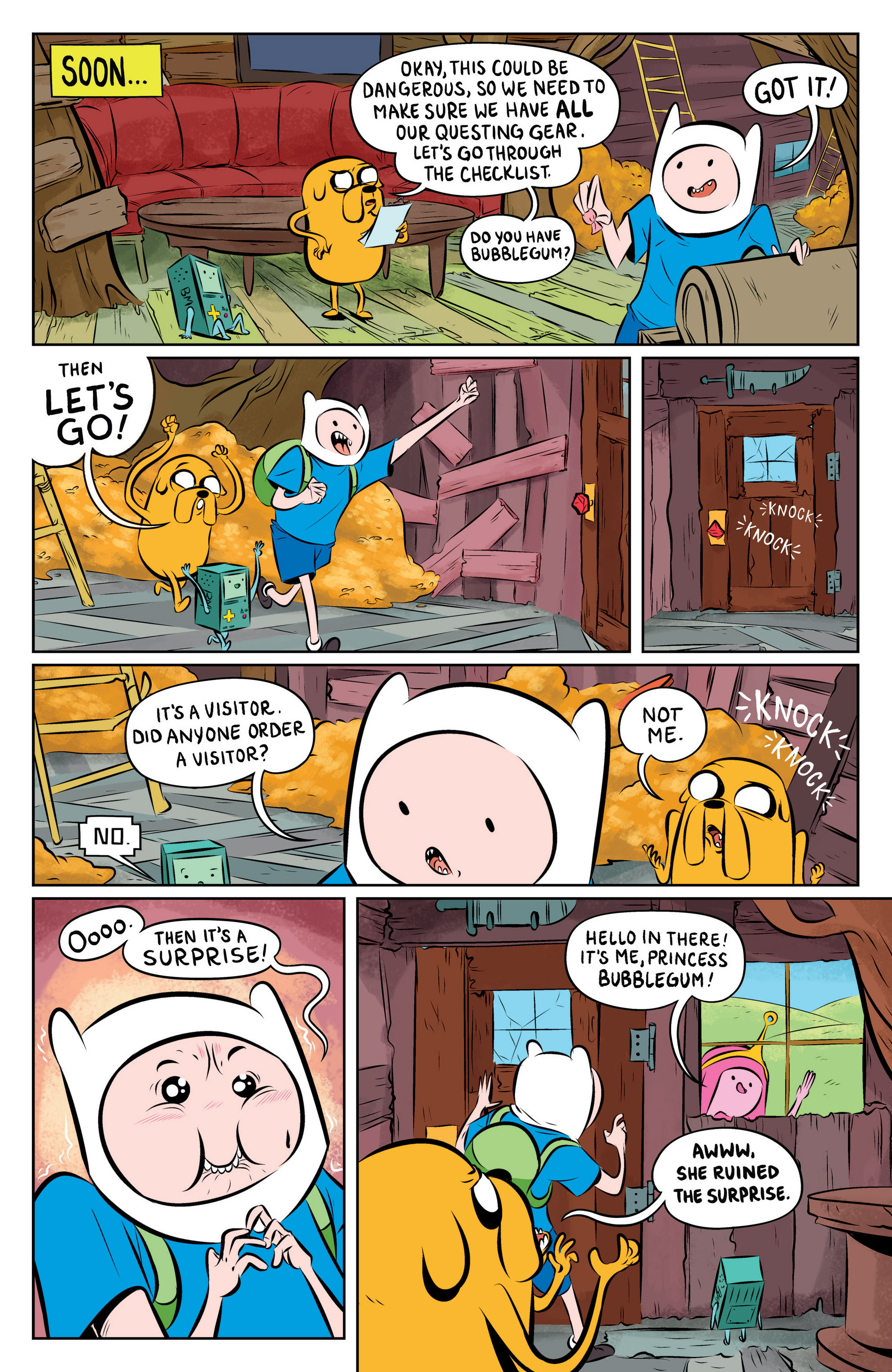 Read online Adventure Time: The Flip Side comic -  Issue #1 - 12