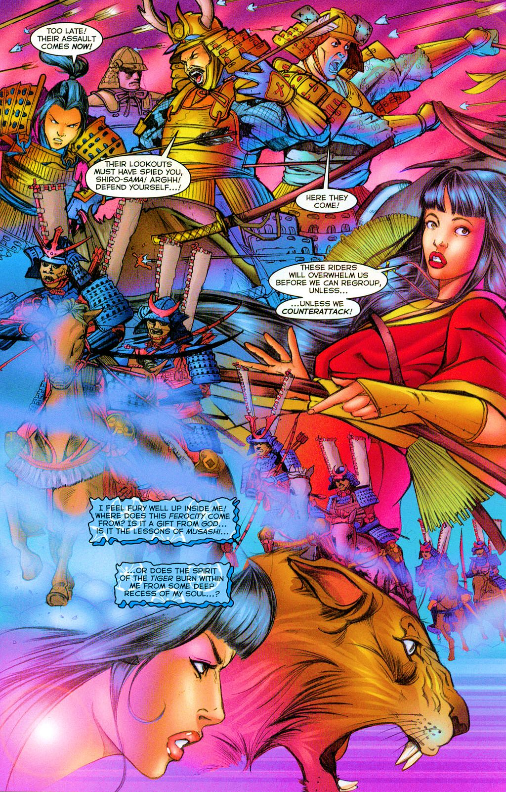 Read online Shi: Heaven And Earth comic -  Issue #2 - 6