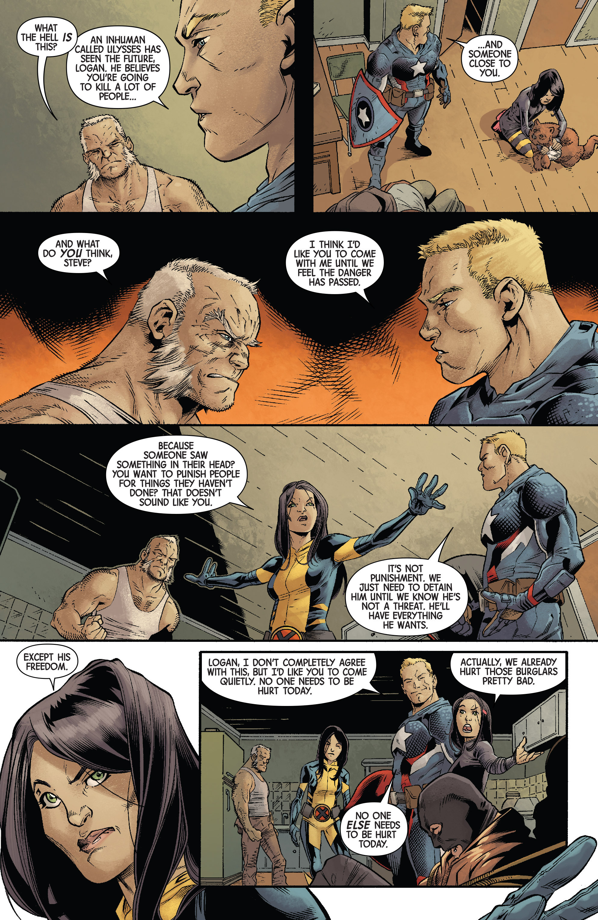 Read online All-New Wolverine (2016) comic -  Issue #11 - 6