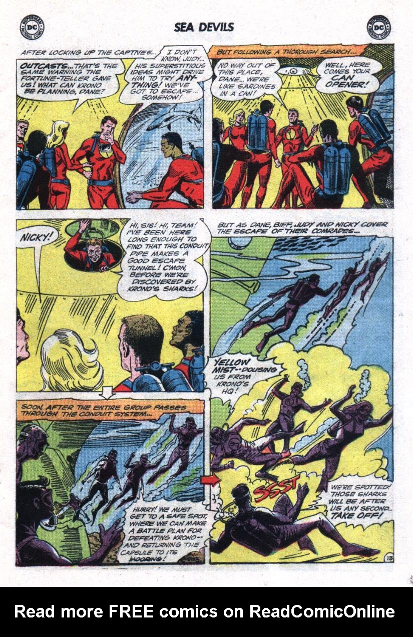 Read online Sea Devils comic -  Issue #23 - 17