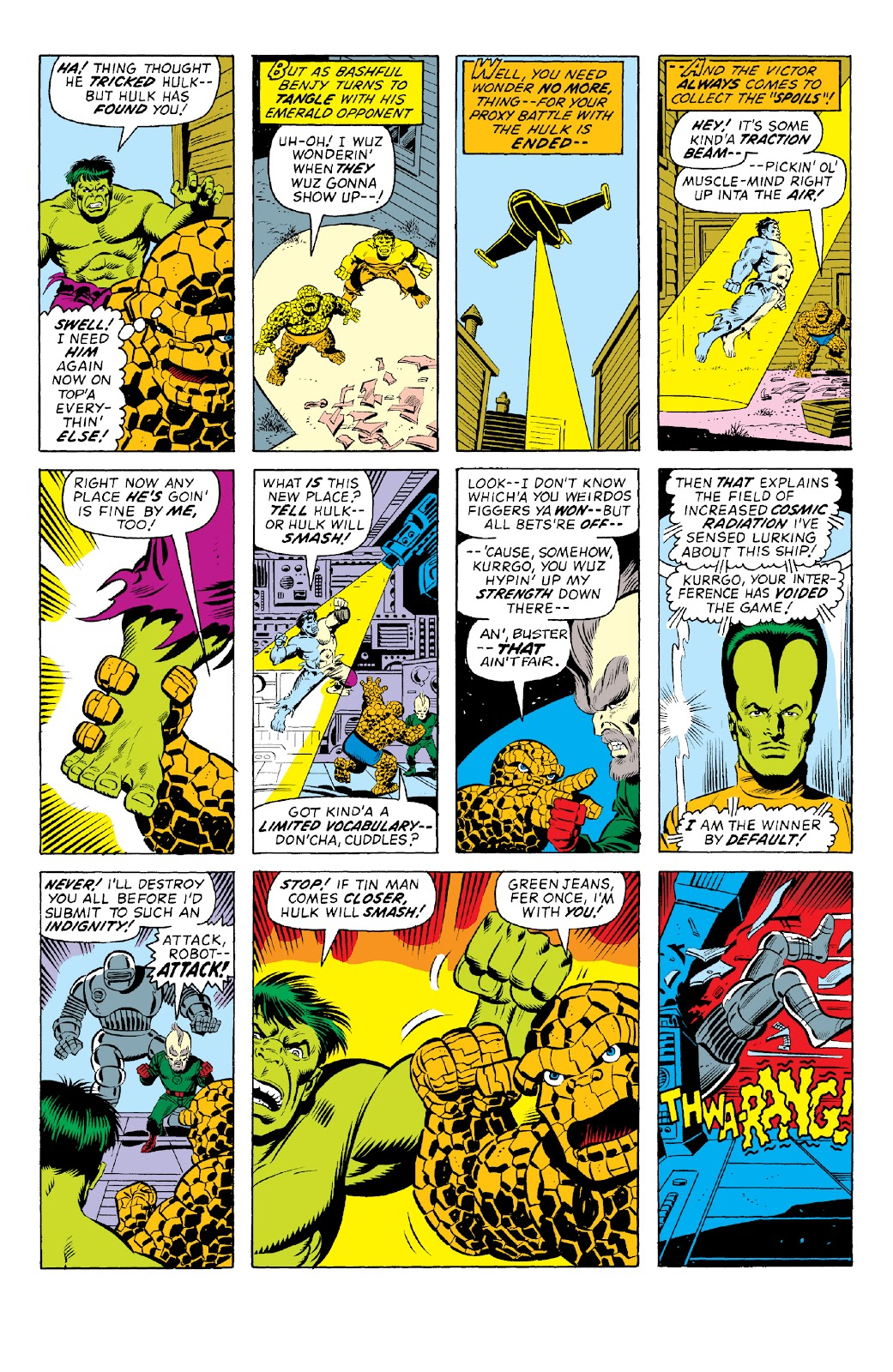 Read online Marvel Two-In-One Epic Collection: Cry Monster comic -  Issue # TPB (Part 1) - 23