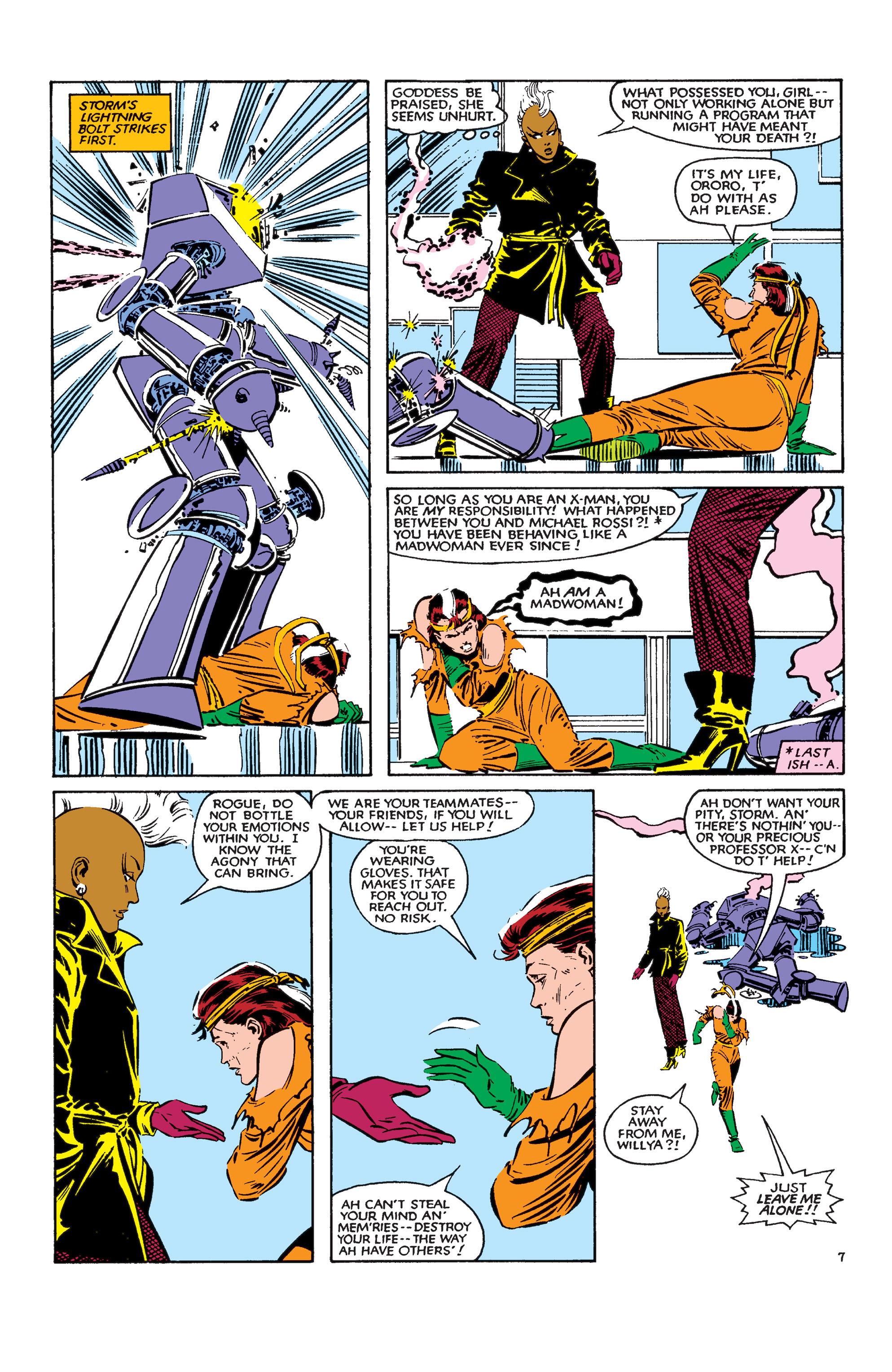 Read online Uncanny X-Men (1963) comic -  Issue #183 - 8