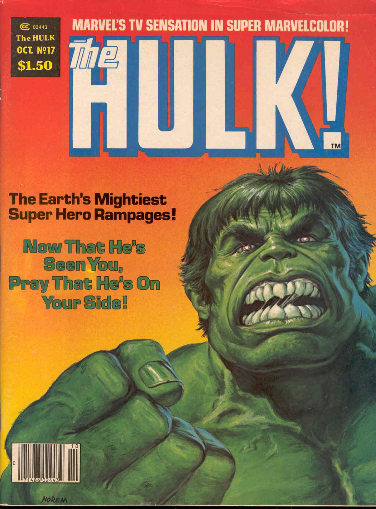 Hulk (1978) 17 Page 1