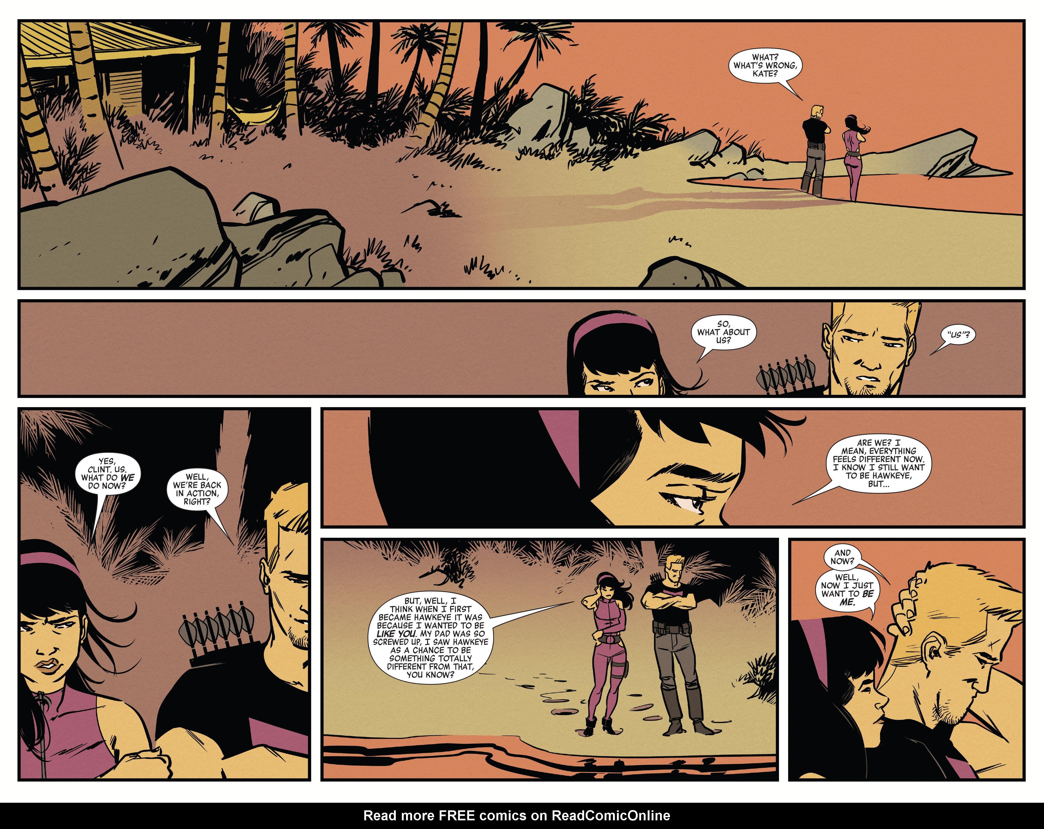 Read online All-New Hawkeye (2016) comic -  Issue #6 - 18