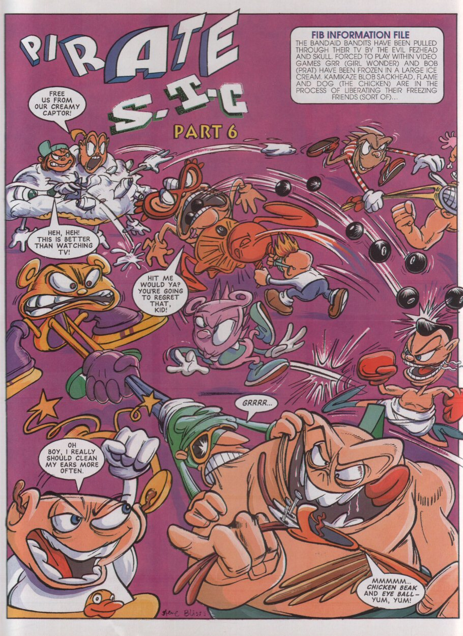 Read online Sonic the Comic comic -  Issue #33 - 25