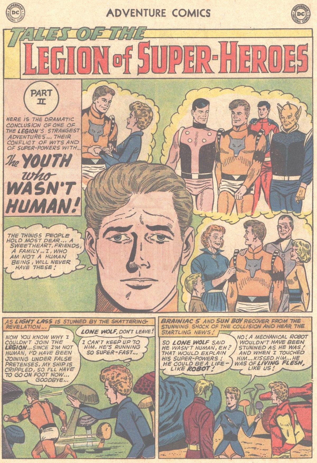 Read online Adventure Comics (1938) comic -  Issue #327 - 10