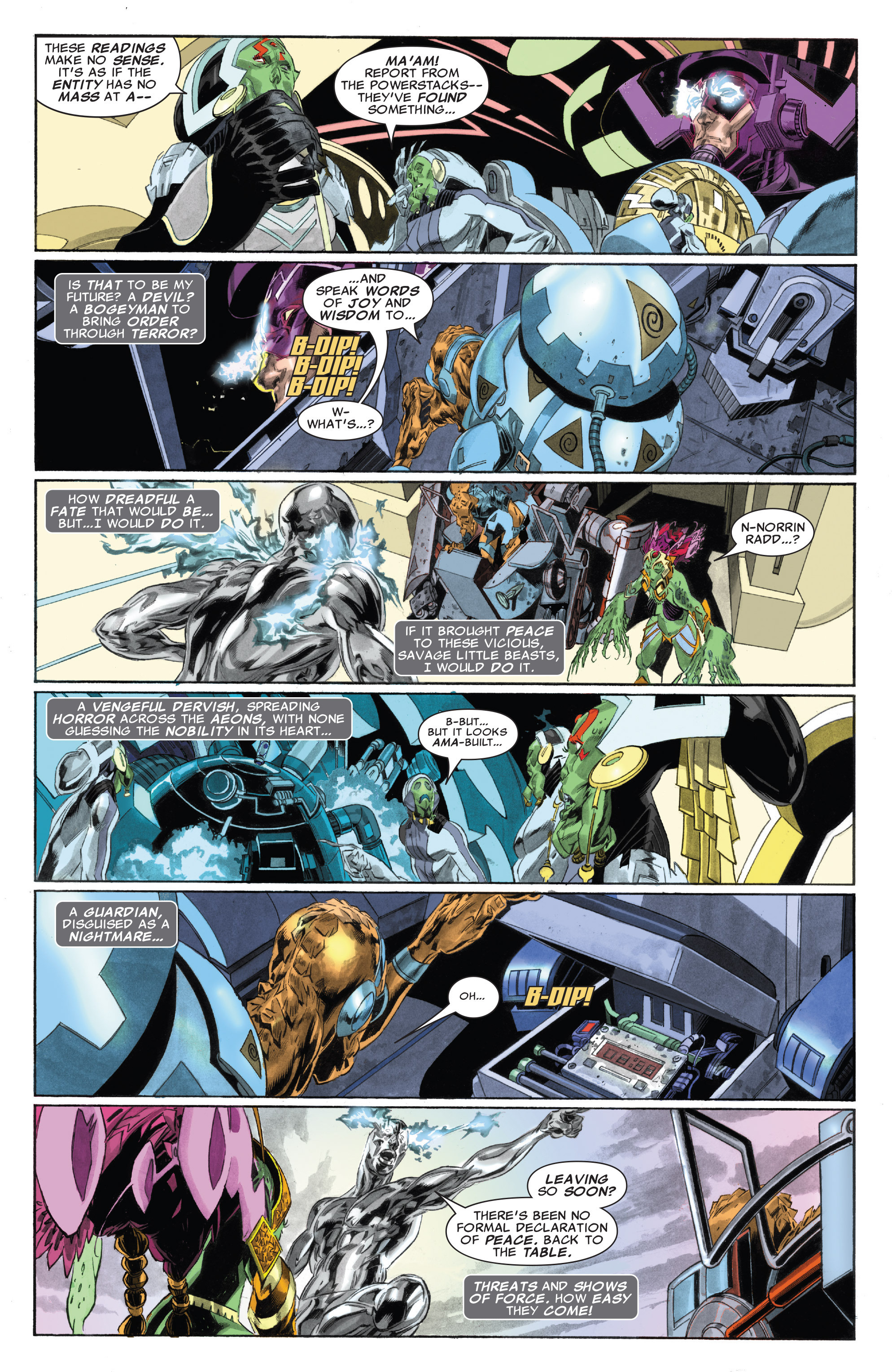 Read online Silver Surfer: In Thy Name comic -  Issue #4 - 11