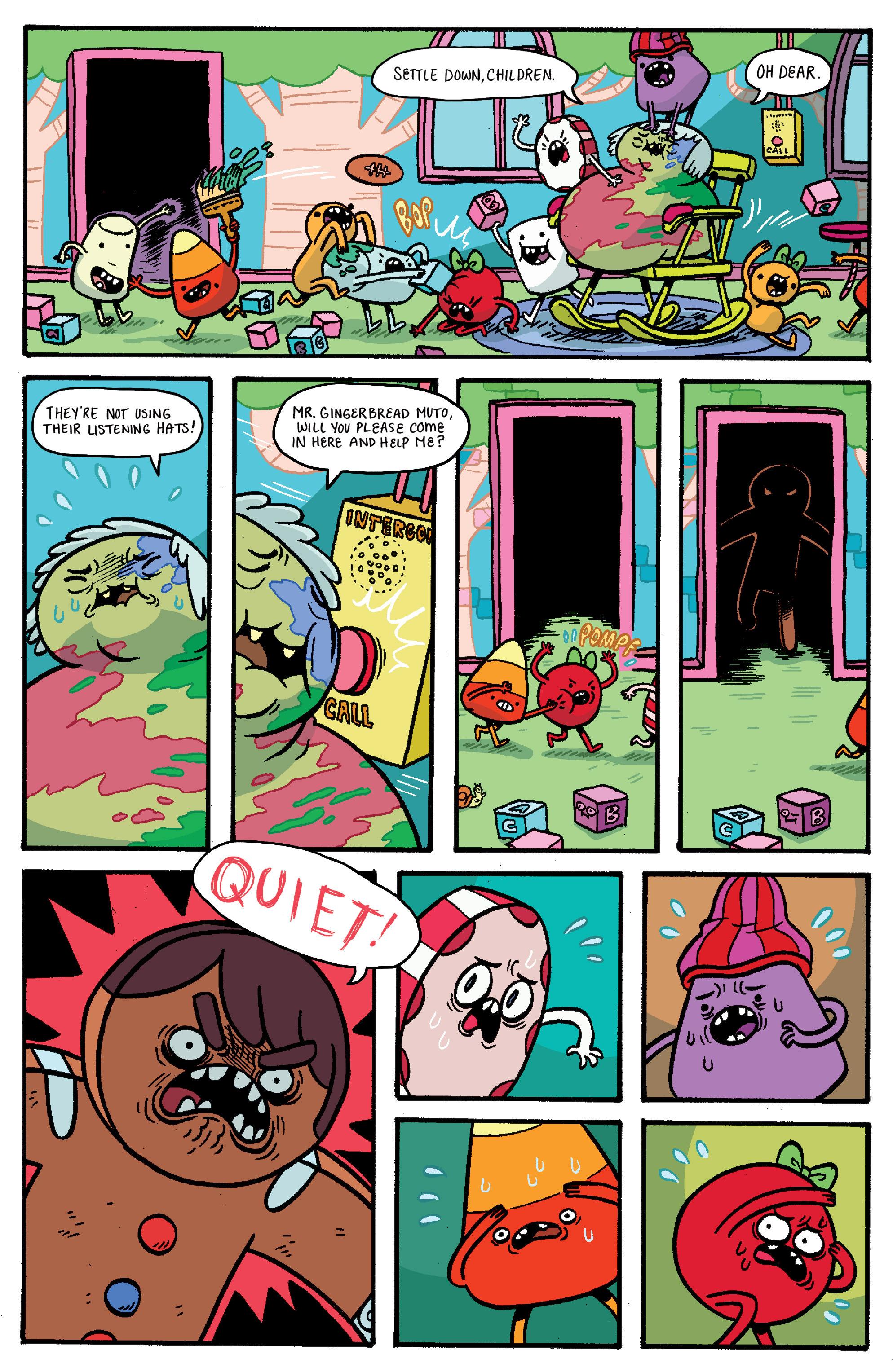 Read online Adventure Time: Banana Guard Academ comic -  Issue #1 - 15