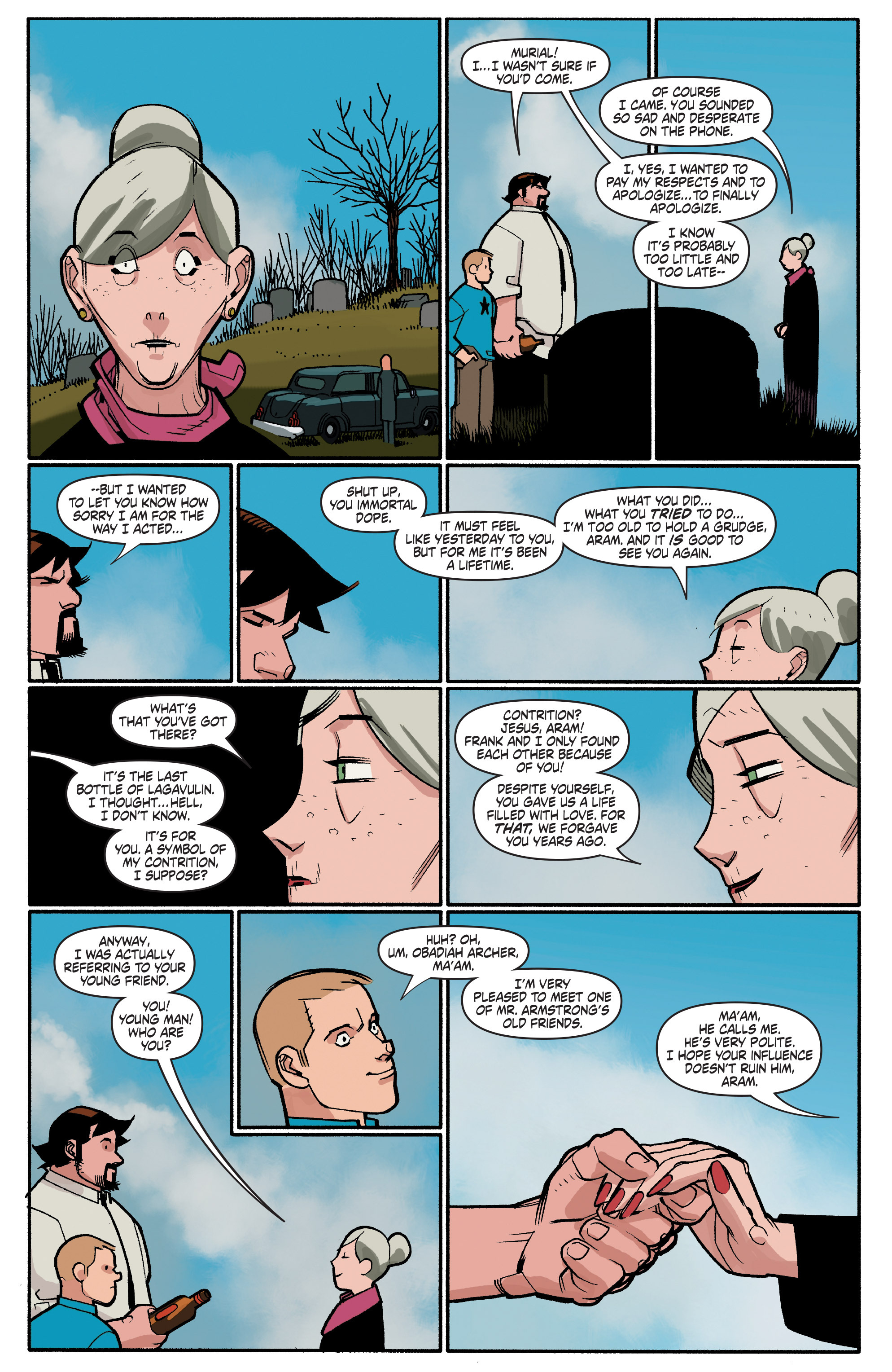 Read online A&A: The Adventures of Archer & Armstrong comic -  Issue #4 - 23