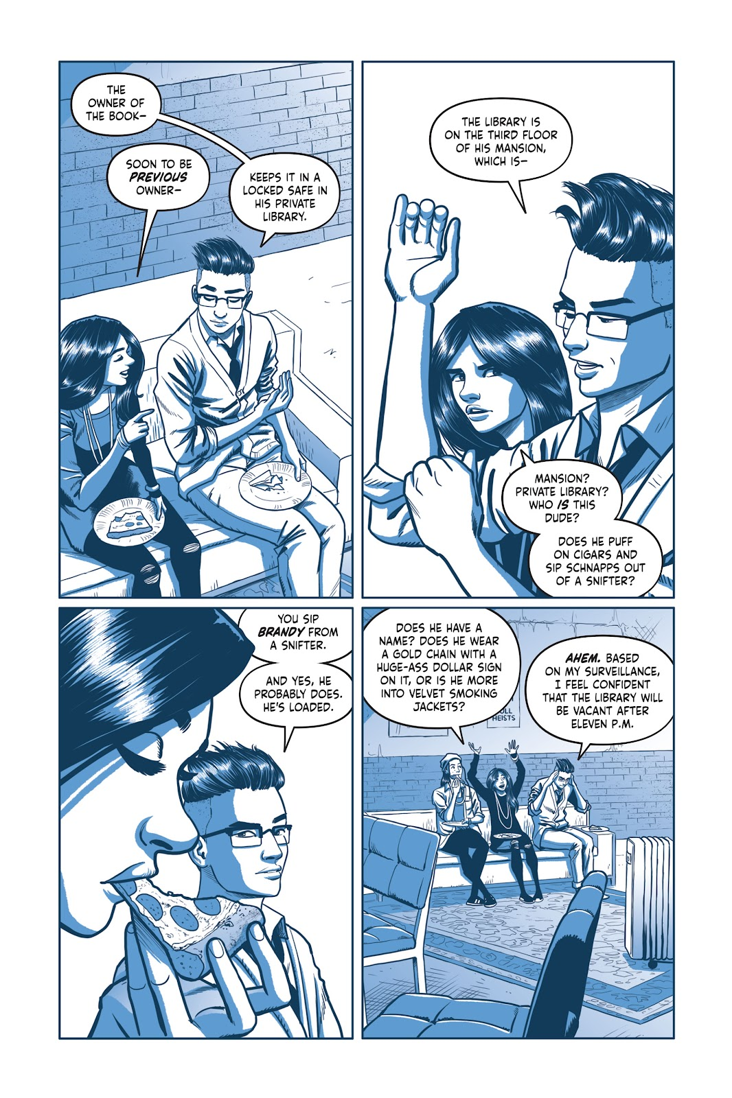 Read online Under the Moon: A Catwoman Tale comic -  Issue # TPB (Part 2) - 17