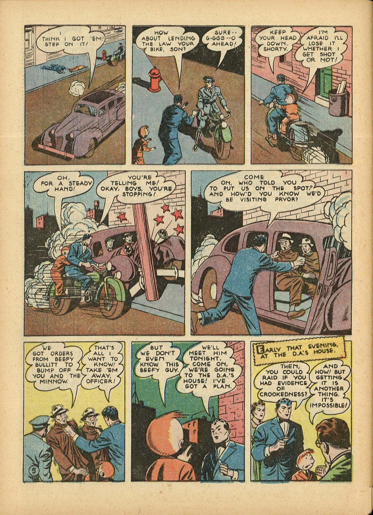 Read online Detective Comics (1937) comic -  Issue #55 - 62
