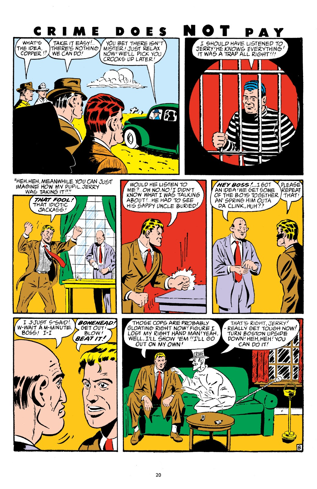 Read online Crime Does Not Pay Archives comic -  Issue # TPB 5 (Part 1) - 20