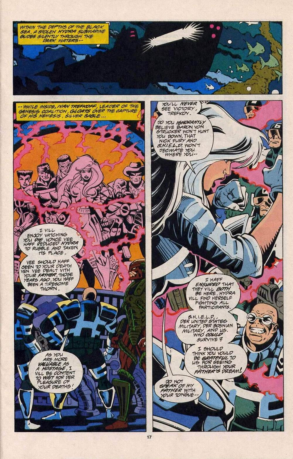 Read online Silver Sable and the Wild Pack comic -  Issue #25 - 14