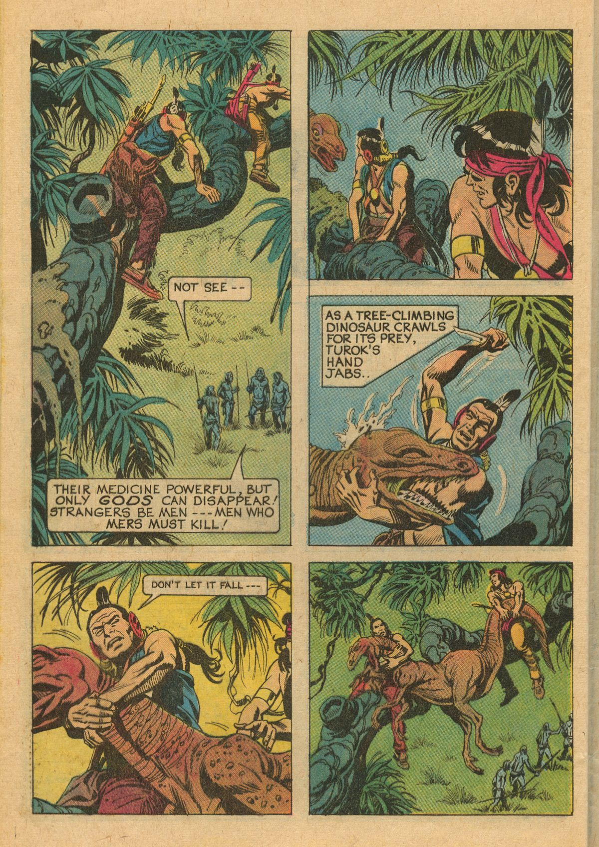 Read online Turok, Son of Stone comic -  Issue #111 - 28
