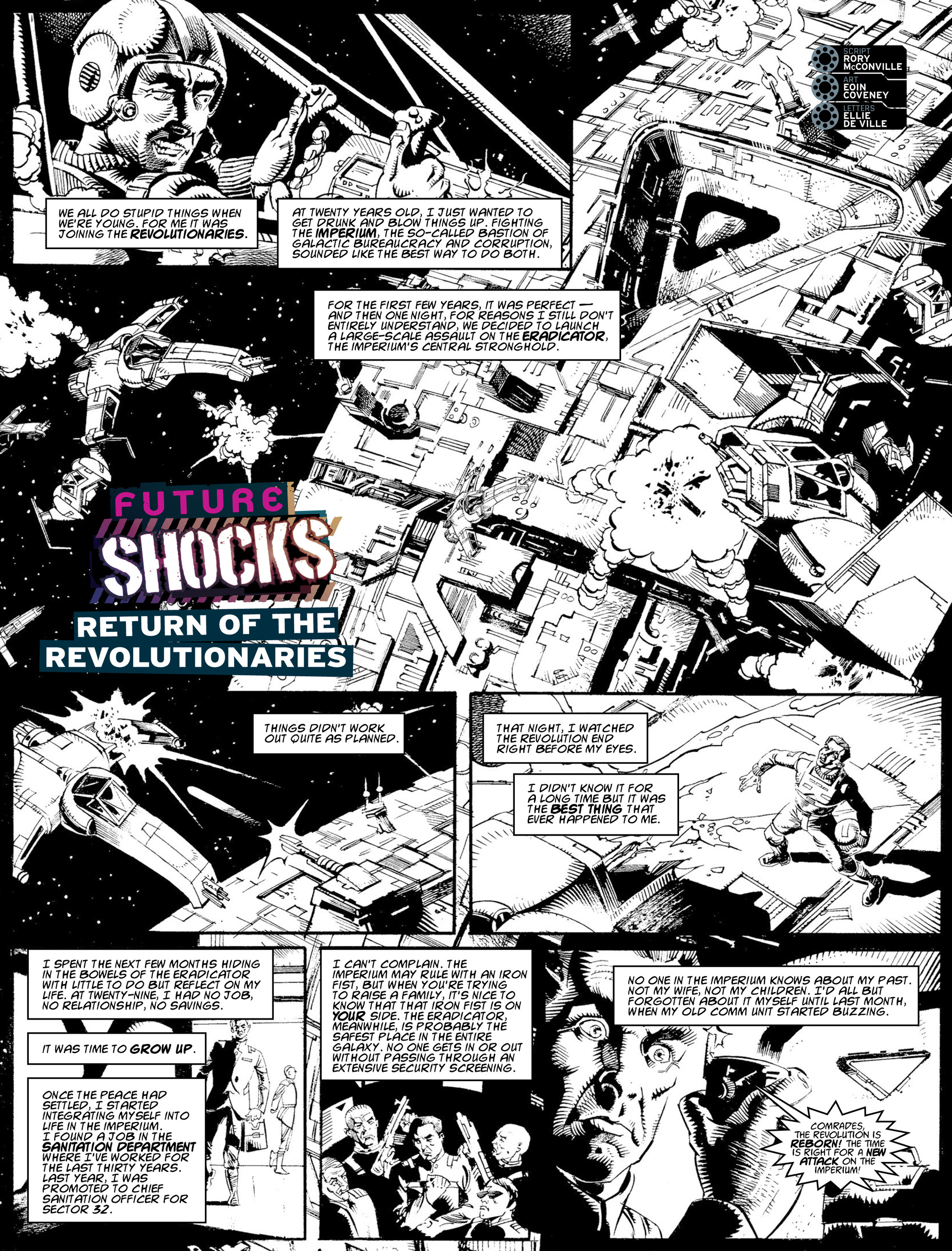 Read online 2000 AD comic -  Issue #2009 - 20