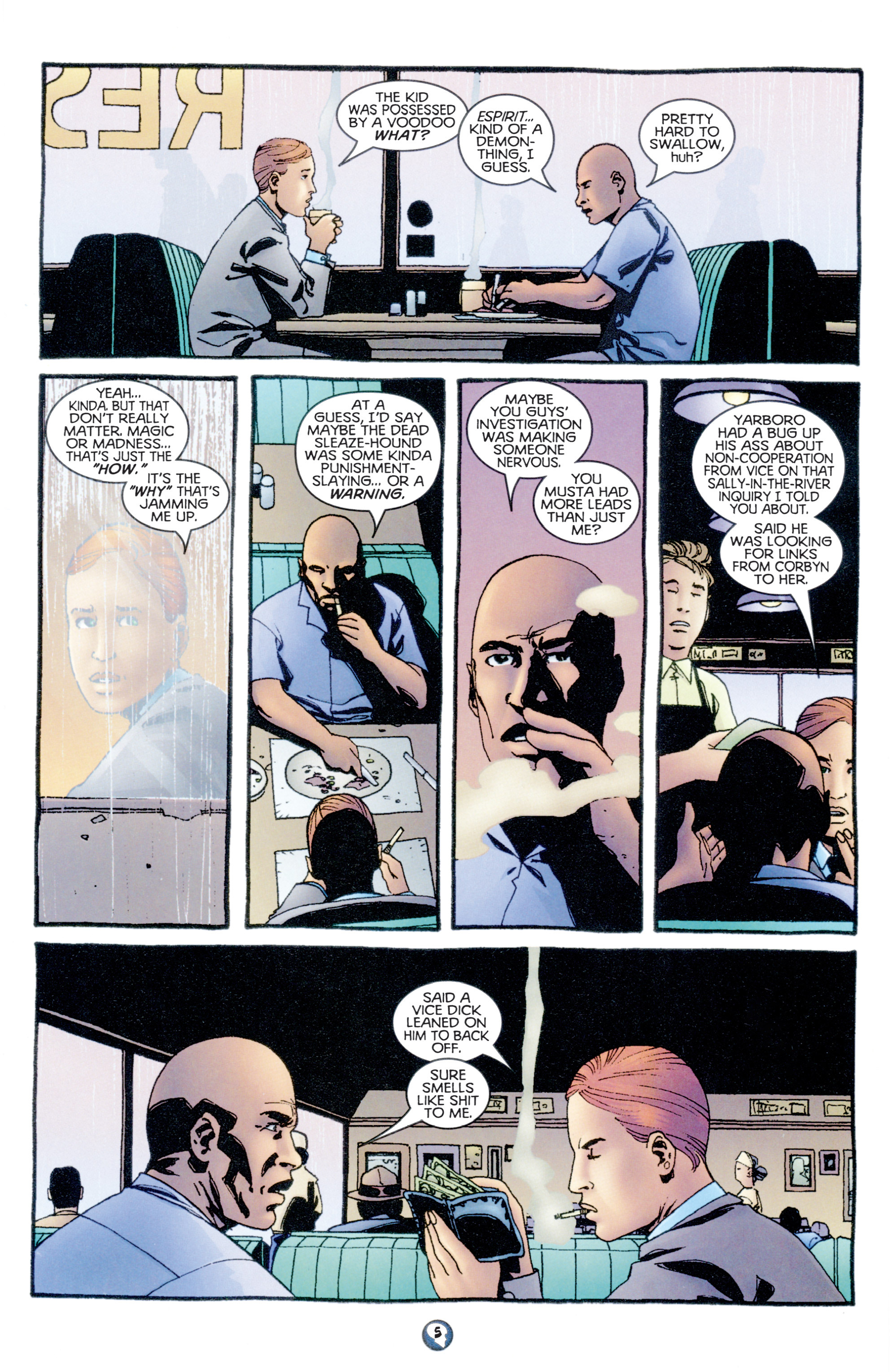 Read online Shadowman (1997) comic -  Issue #10 - 6