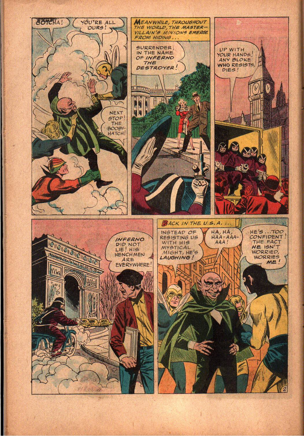 The Mighty Crusaders (1965) Issue #2 #2 - English 11
