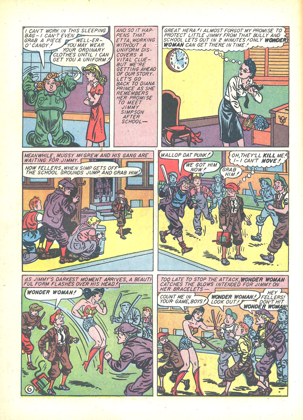Read online Sensation (Mystery) Comics comic -  Issue #23 - 8