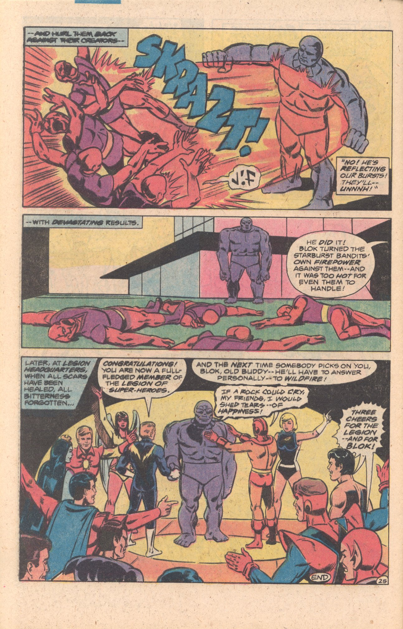 Legion of Super-Heroes (1980) 272 Page 25