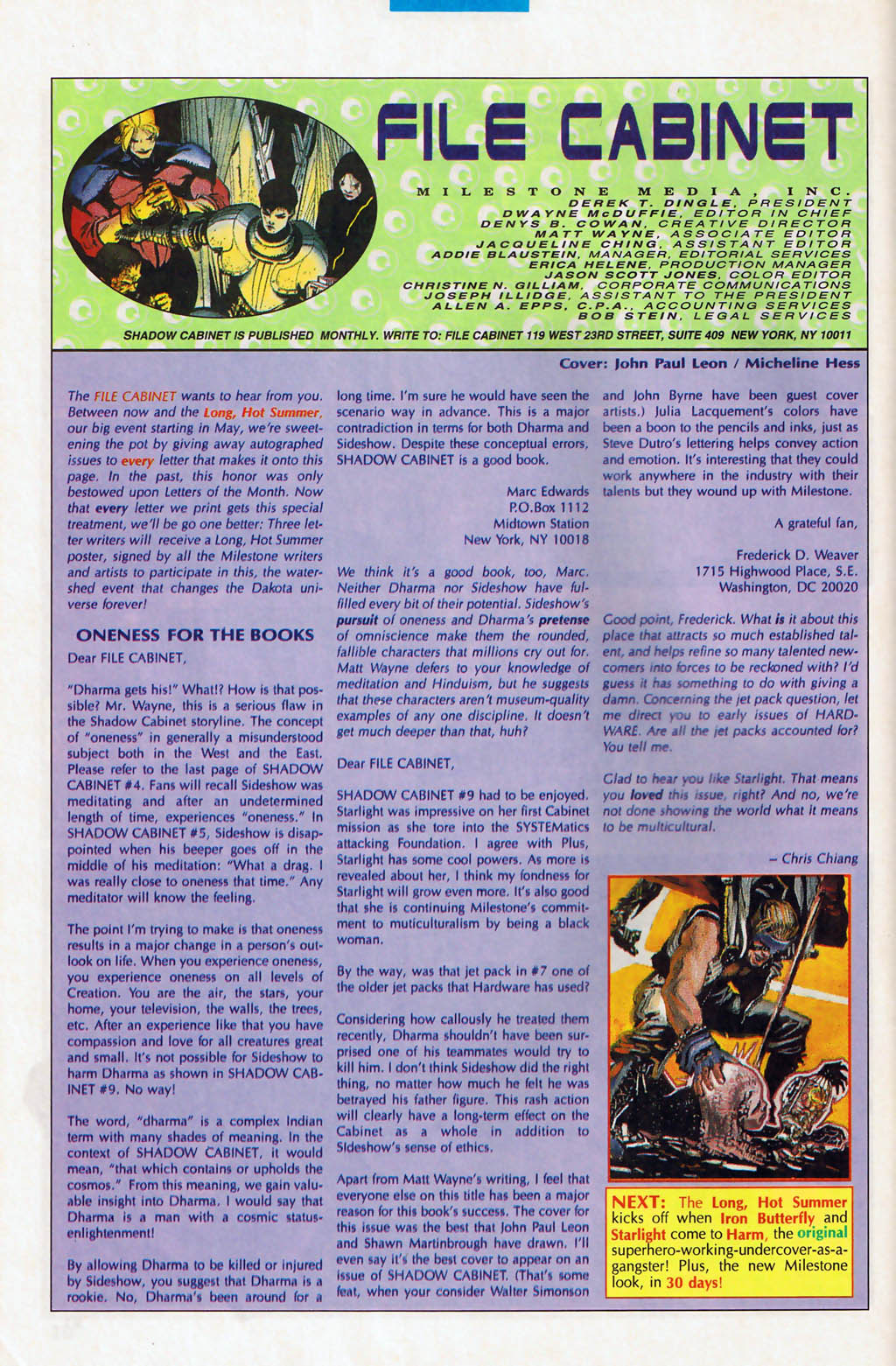 Read online Shadow Cabinet comic -  Issue #13 - 24