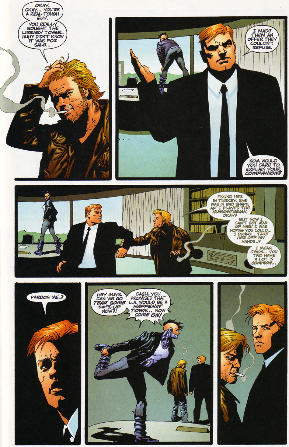 Wildcats (1999) Issue #12 #13 - English 21
