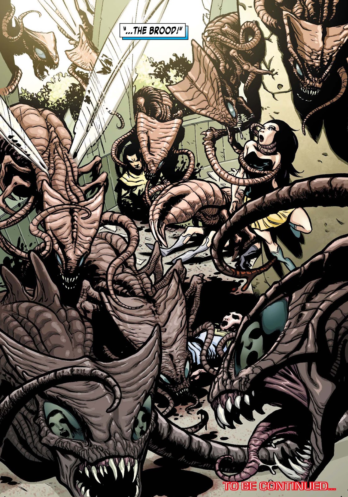 Read online War of Kings: Warriors - Lilandra comic -  Issue #1 - 10