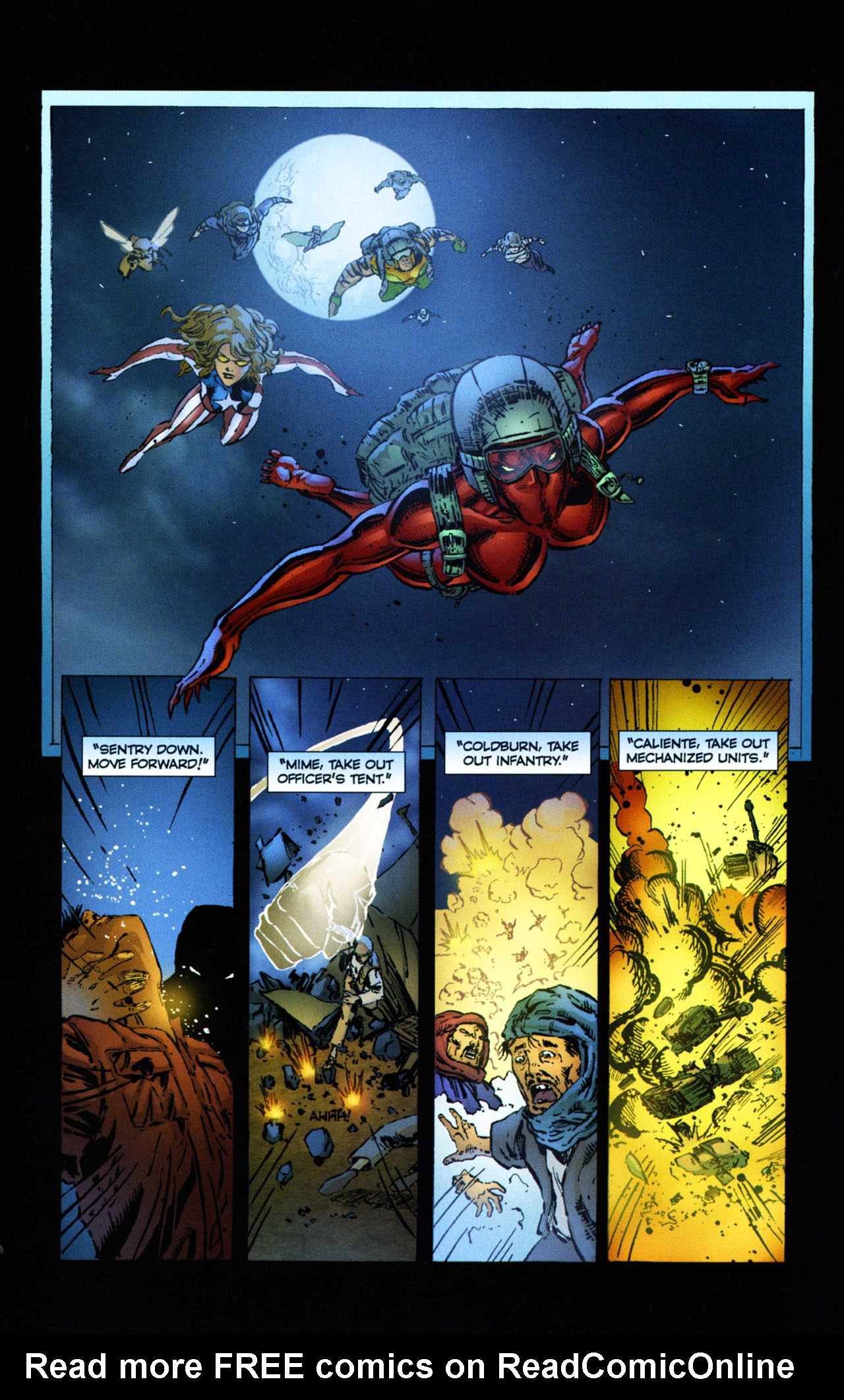Read online Ant comic -  Issue #11 - 22