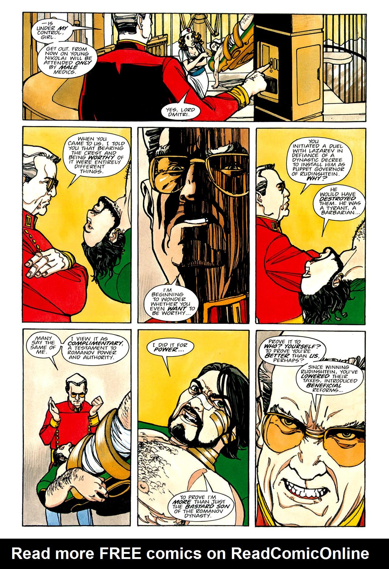 Read online Nikolai Dante comic -  Issue # TPB 1 - 88