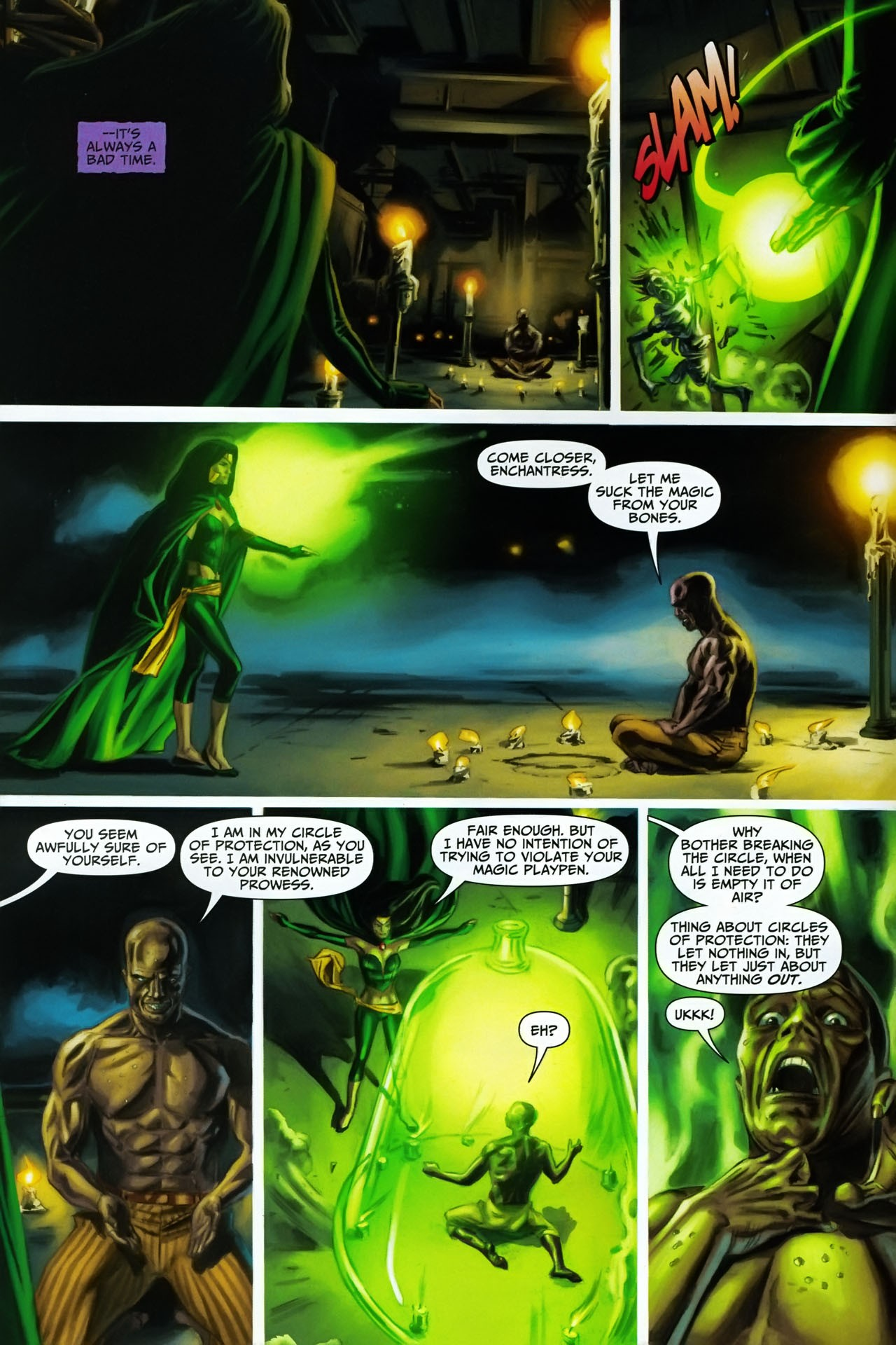 Read online Shadowpact comic -  Issue #17 - 5