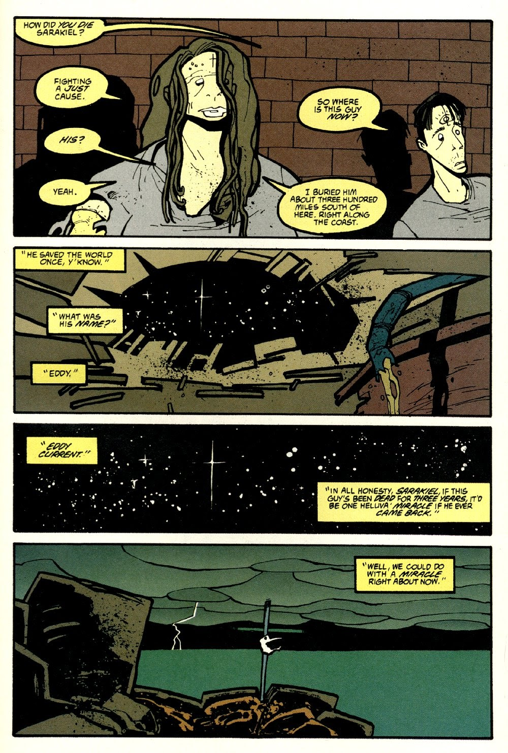 Read online Ted McKeever's Metropol comic -  Issue #8 - 27