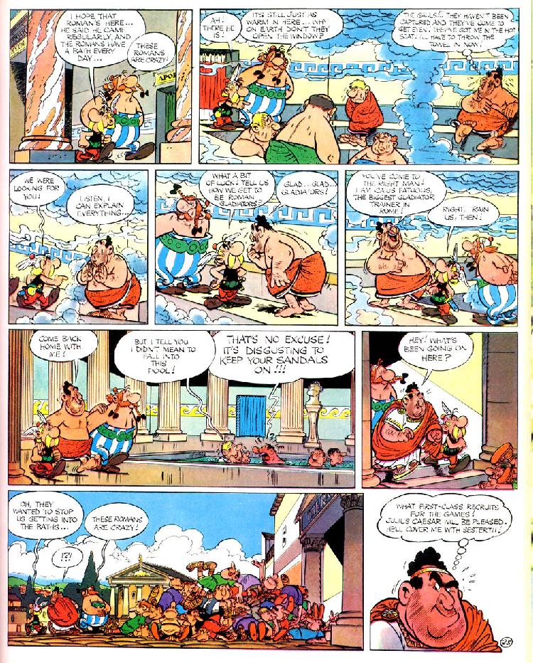 Read online Asterix comic -  Issue #4 - 29