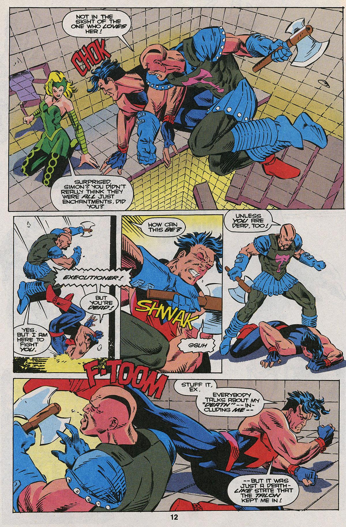 Read online Wonder Man (1991) comic -  Issue #22 - 9