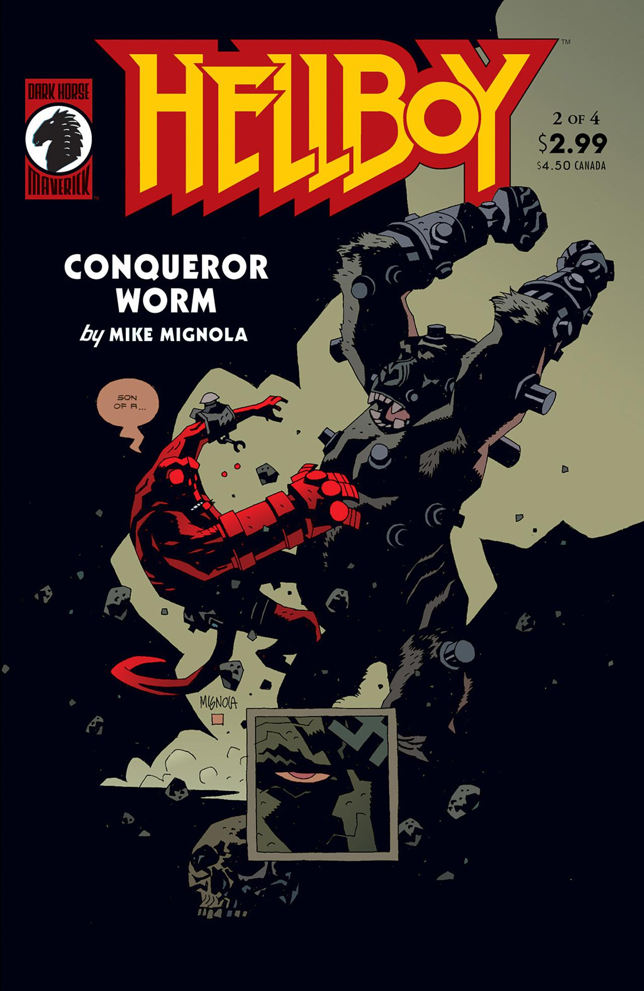 Read online Hellboy: Conqueror Worm comic -  Issue #2 - 1