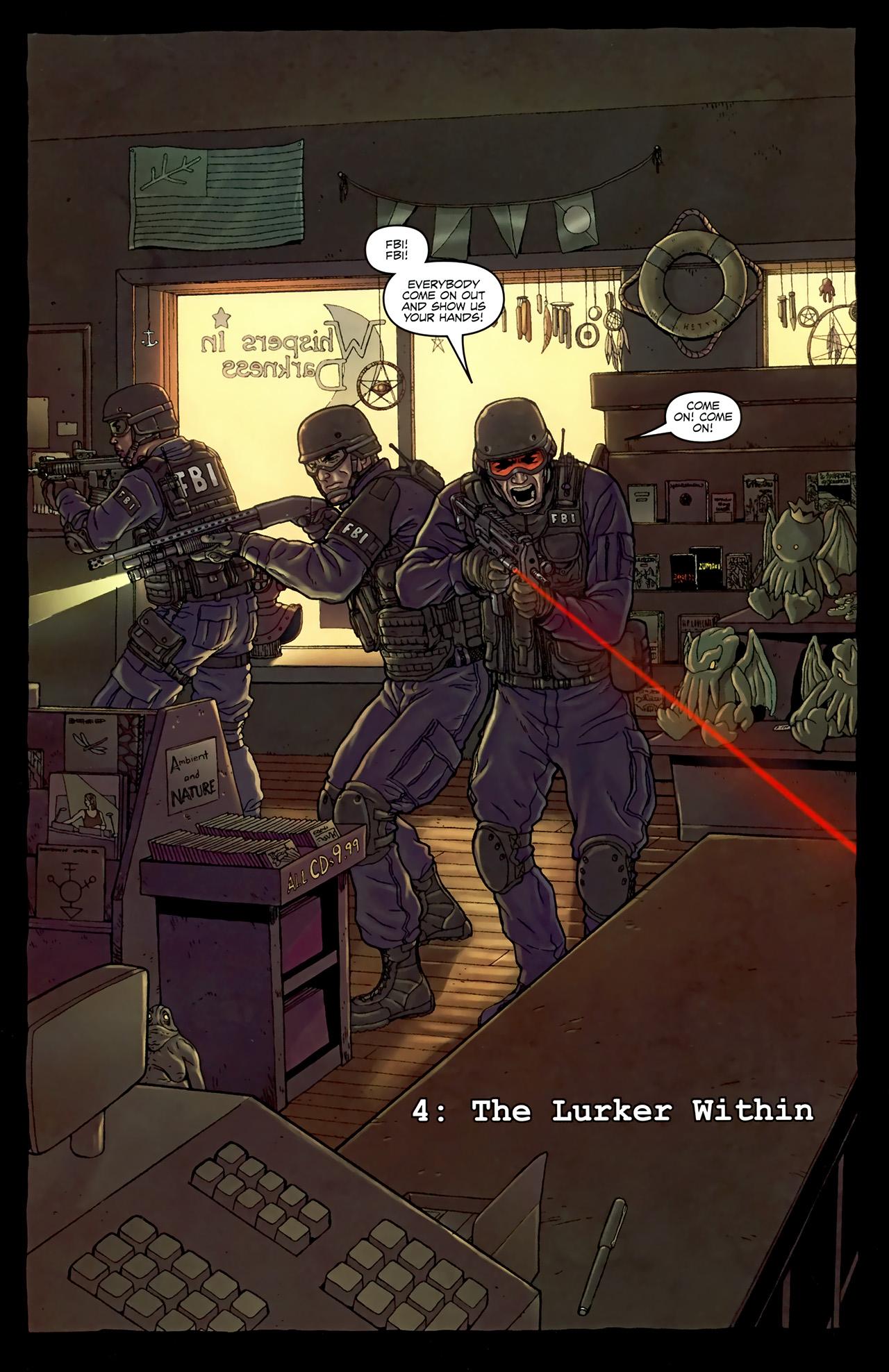 Read online Alan Moore's Neonomicon comic -  Issue #4 - 8
