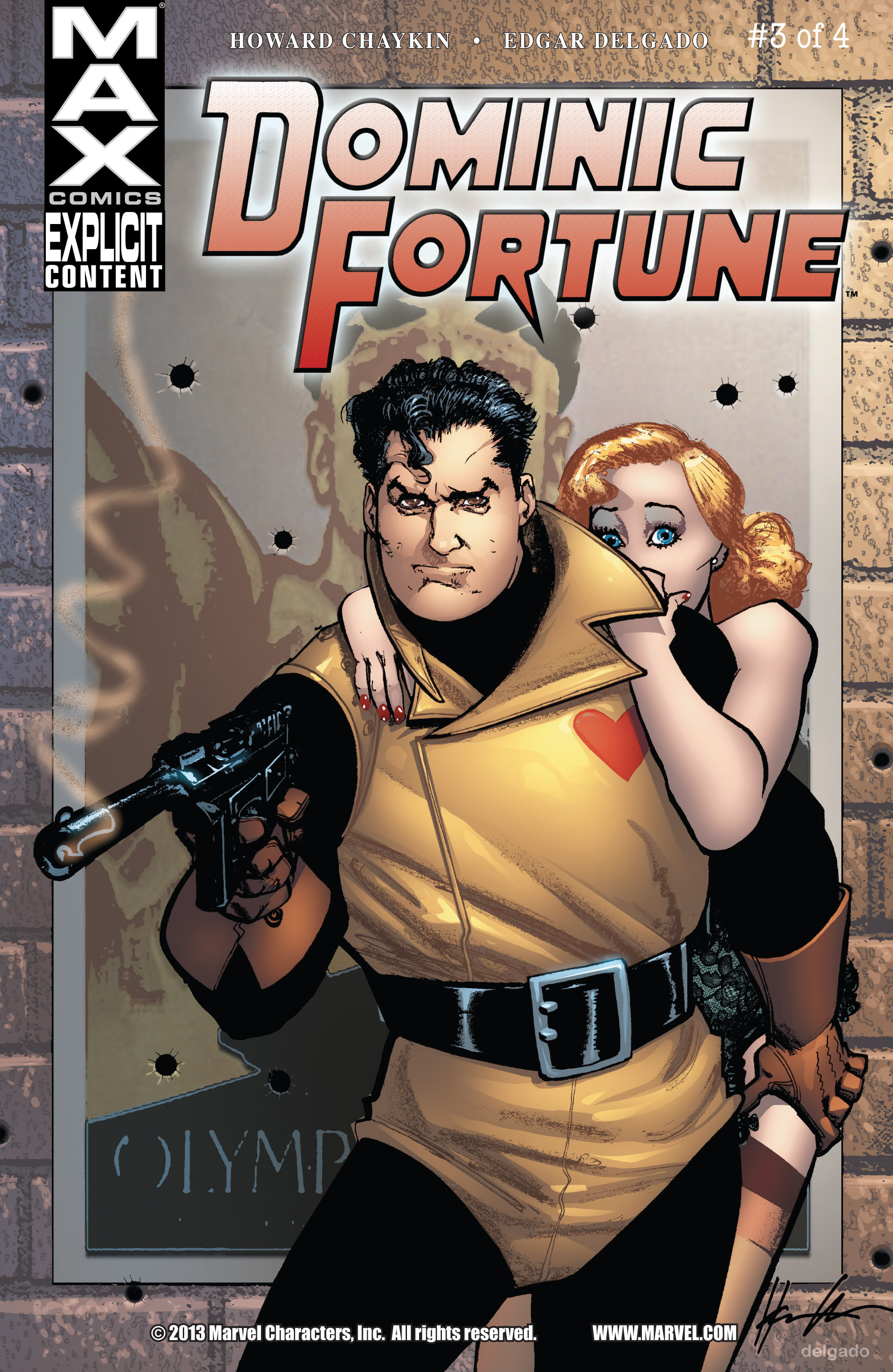 Read online Dominic Fortune comic -  Issue #3 - 1