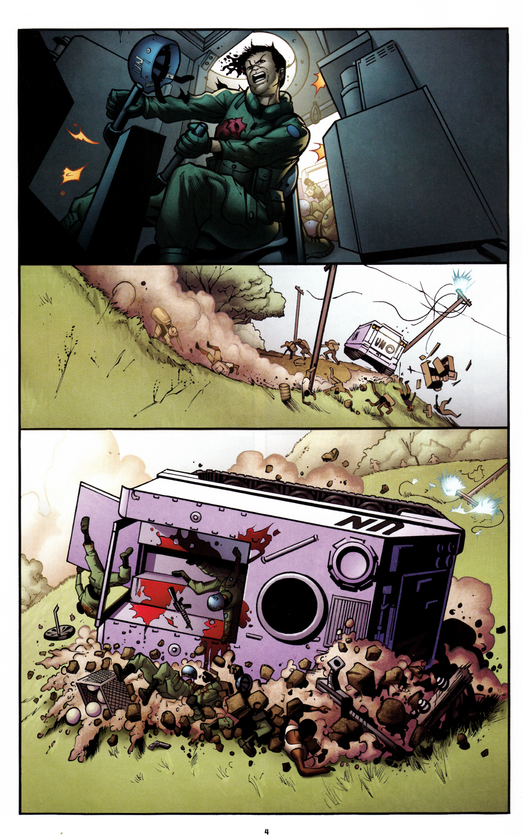 Read online G.I. Joe: Snake Eyes comic -  Issue #6 - 7
