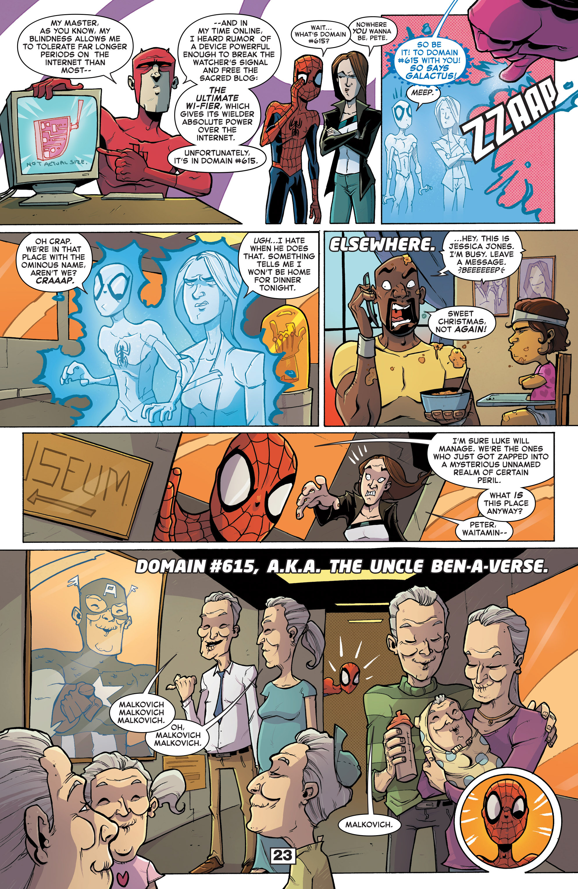 Read online Secret Wars Too comic -  Issue # Full - 25