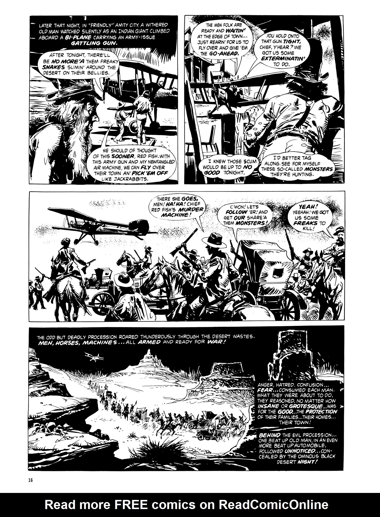 Read online Eerie Archives comic -  Issue # TPB 16 - 17