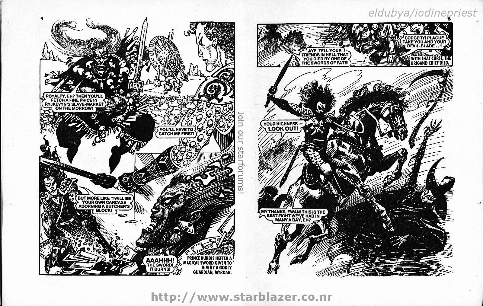 Starblazer issue 271 - Page 4