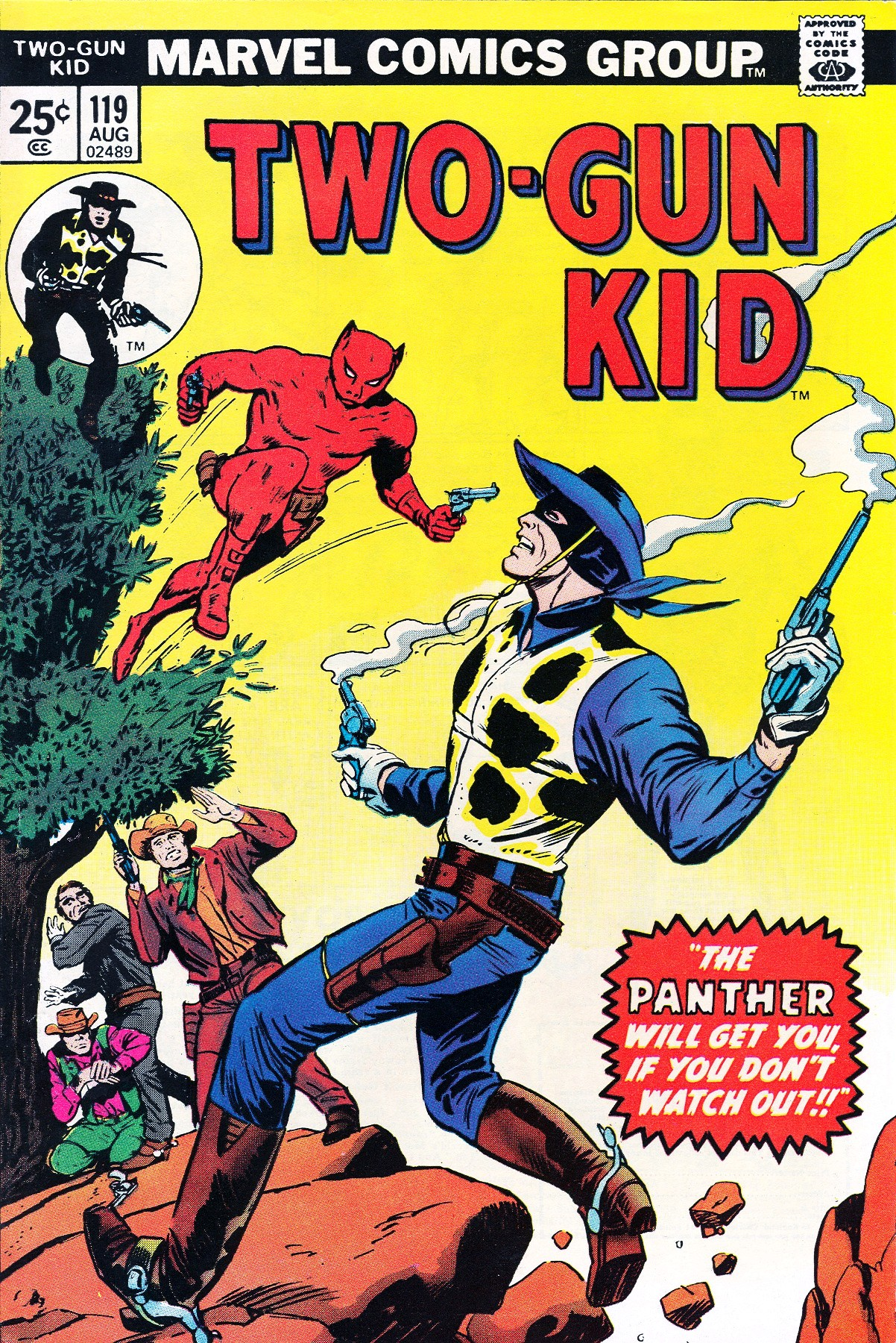 Read online Two-Gun Kid comic -  Issue #119 - 1