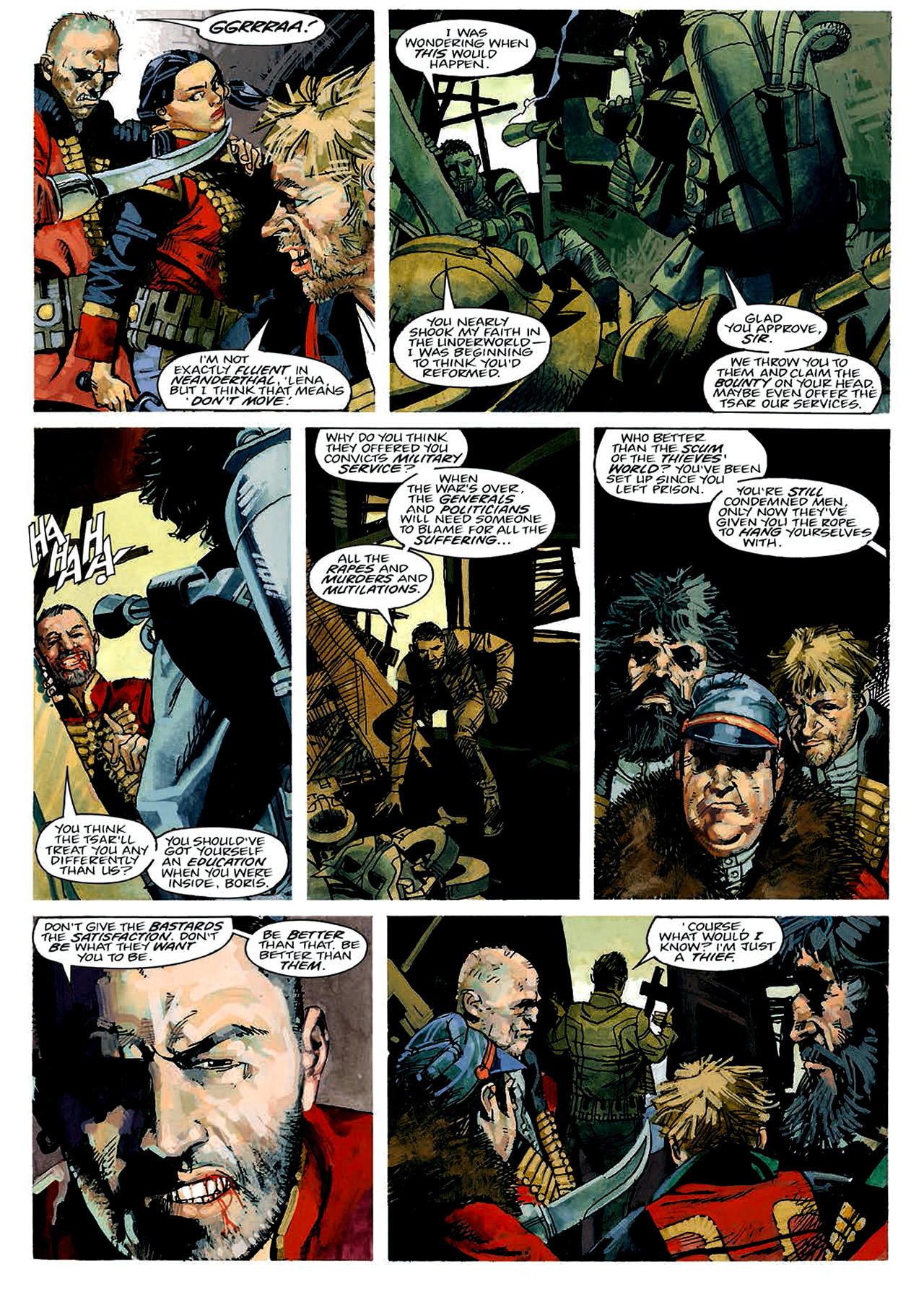 Read online Nikolai Dante comic -  Issue # TPB 4 - 35