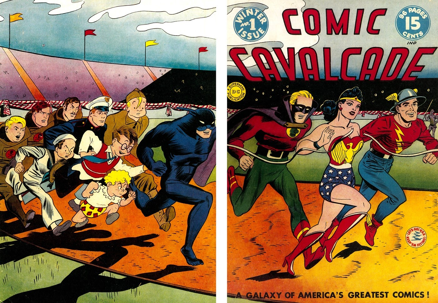 Read online 75 Years Of DC Comics comic -  Issue # TPB (Part 1) - 75